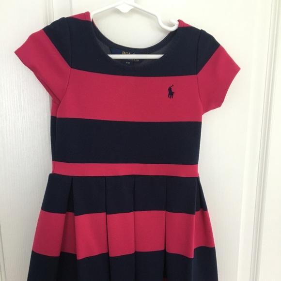 cd4f1679c85eb Polo by Ralph Lauren Dresses | Girls Polo Ralph Lauren Striped Dress ...